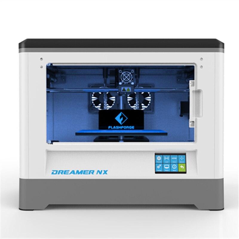 Nuovo!!! Stampante Flashforge 3D Dreamer NX Stampante Singolo Estrusore 3D Della presa di Fabbrica