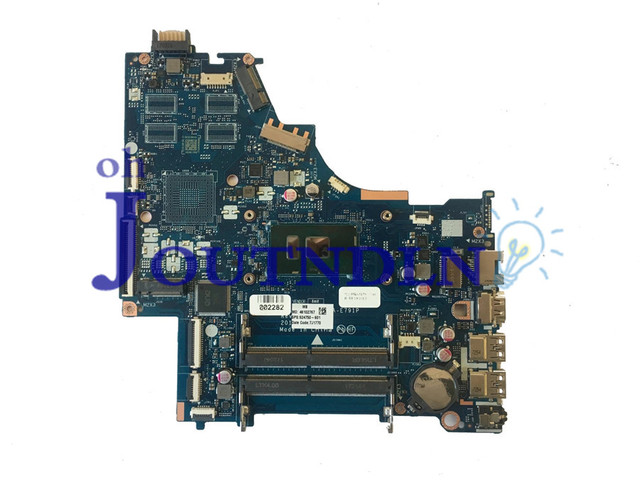US $172 0 |JOUTNDLN FOR HP 250 G6 15 BS Laptop Motherboard 924750 601  924750 501 924750 001 DDR4 CSL50/CSL52 LA E791P W/ i3 6006U CPU -in Laptop