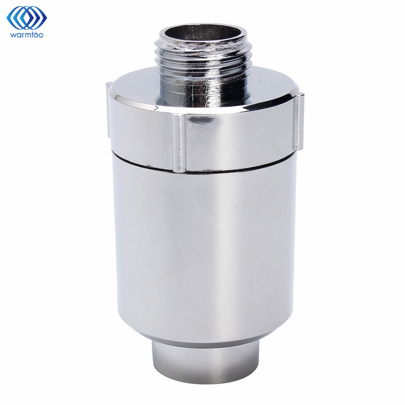 где купить Warmtoo Sprinkler Filter Water Tap Purifier Water Filter In Line Faucet Shower Head Batch Kitchen Softener Chlorine Household дешево