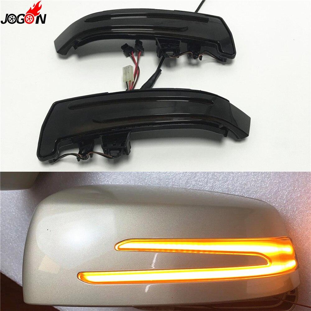Dynamique Clignotants Rétroviseur miroir indicateur Clignotant Lumière Pour Mercedes Benz A B C E S CLA GLA CLS W176 W246 w204 W212 X156