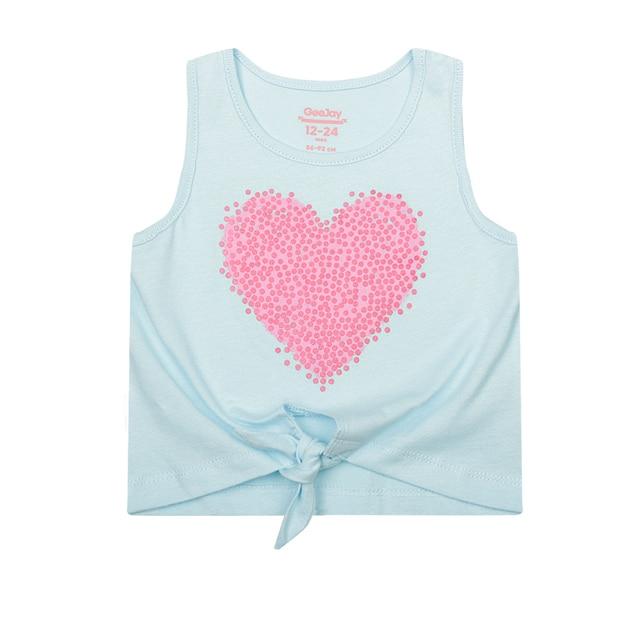 Майка Gee Jay для девочек с сердцем GTN001131