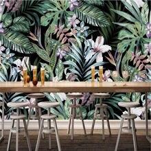 Ручная роспись Европейский пасторальный стиль тропический лес