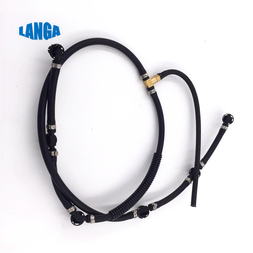 Fuel overflow hose Fuel return Line Hose Pipe Diesel Injector Hose Leak line OE: A6420701332 for <font><b>OM642</b></font> image