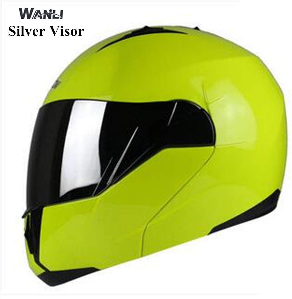 motociclista Flip Up Motorcycle Helmet Mens Modular casco caschi moto helmet female capacete Dual lens choose the visor color for top gear the stig helmet with silver visor tg collectable like simpson pig yellow motorcycle helmet you re the stig