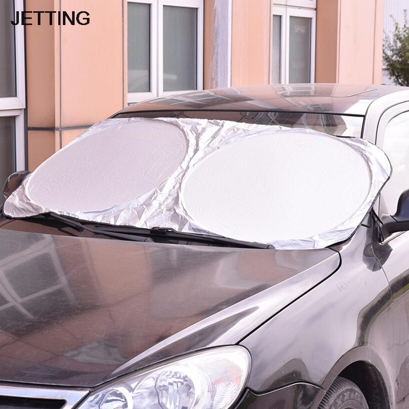 hot uv protect car window film auto visor windshield windscreen sun block cover folding jumbo. Black Bedroom Furniture Sets. Home Design Ideas