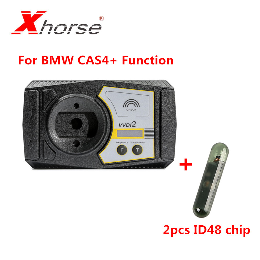 Xhorse (VB-02) VVDI2 For BMW CAS4+ Function Authorization Plus 2pcs ID48 Chips Must Have BMW OBD Authorization First