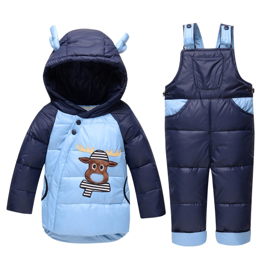 Children Winter Set 2Pcs Duck Down Hooded +Jumpsuit Suits Boys Girls Clothing Sets Snowsuit kids Clothes setsChildren Winter Set 2Pcs Duck Down Hooded +Jumpsuit Suits Boys Girls Clothing Sets Snowsuit kids Clothes sets