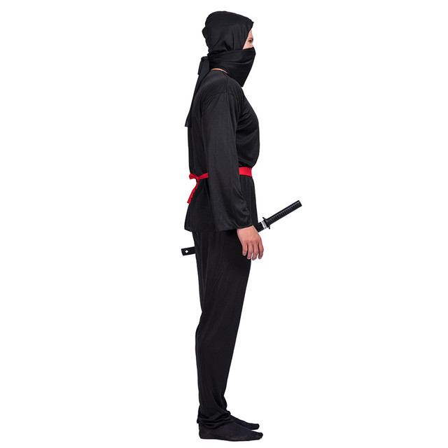 Adult Man Adult Ninja Cosplay Costumes Carnival Halloween Party Clothing Hokkaido Samurai Suit Japanese Ninja Costume 1
