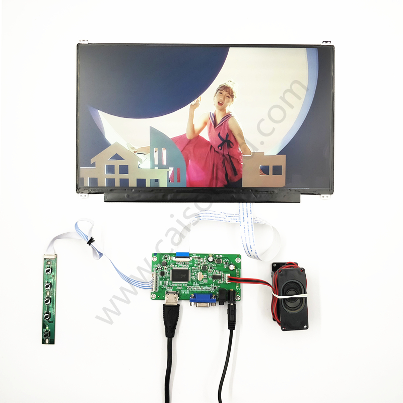 HDMI+EDP LCD controller board support 13.3 inch lcd panel with 1920*1080,350 Typ.DIY 13.3 inch lcd kits vga hdmi lcd edp controller board led diy kit for lp116wh6 spa1 lp116wh6 spa2 11 6 inch edp 30 pins 1lane 1366x768 wled ips tft