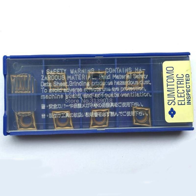 New Original Sumitomo CCMT09T304N MU AC630M Carbide Inserts CCMT 09T304 N MU AC630M Cutting Blade Tool
