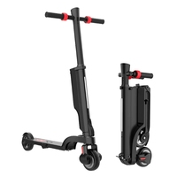 X6 Foldable Electric Scooter 250W 24V 6Ah Electric Kick Scooter with Detachable Battery and Bluetooth Speaker