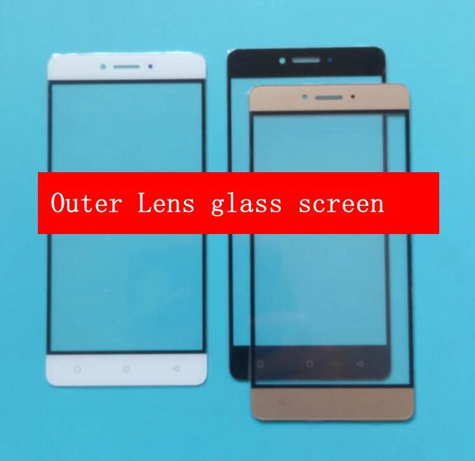 Front Outer lens glass screen replacement for Qmobi