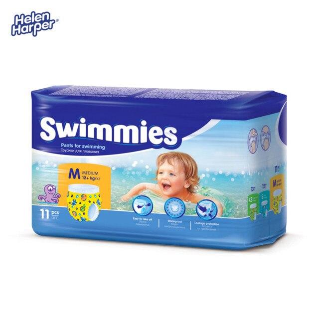 HELEN HARPER Детские трусики для плавания Swimmies Medium 12+ кг. (11 шт.)