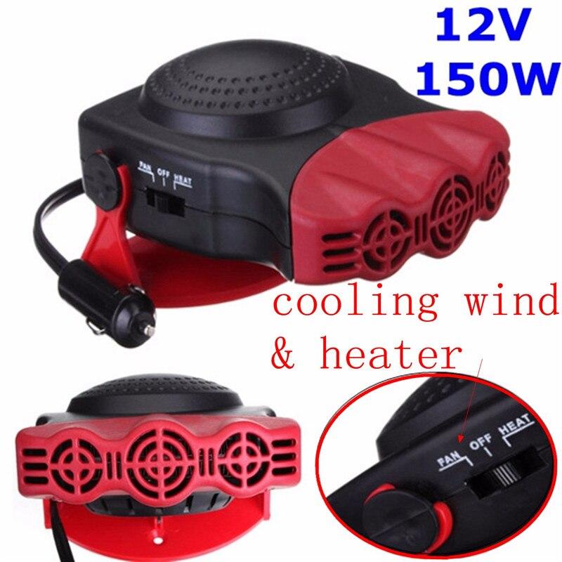 150 watt DC 12 v Heizung und Kühlung 2 in 1 Auto Heizung Heizung Heiße Kühle Auto Fan Windschutz Fenster demister Defroster