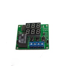 цена SRA-12VDC-AL digital display time relay 12V delay timed loop relay module онлайн в 2017 году