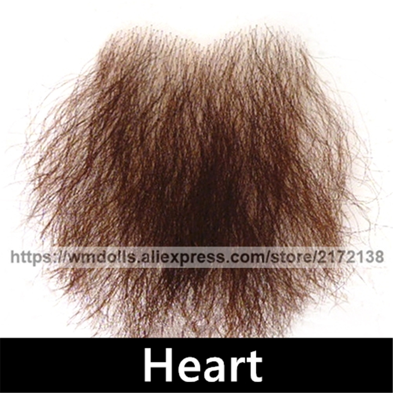 WMDOLL Sex Dolls Realistic Patch Pubic Hair To Stick Real False Pubic Hair Love Doll Adult Toys