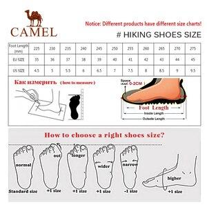 Image 5 - CAMEL, Zapatos altos de senderismo para mujer, zapatos duraderos antideslizantes cálidos para escalar al aire libre, zapatos de Trekking, botas tácticas militares
