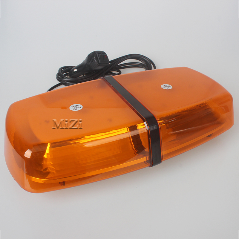 Warning Light Amber LED Light Bar Emergency Light Ambulance DayLight Truck With Magnetic ...