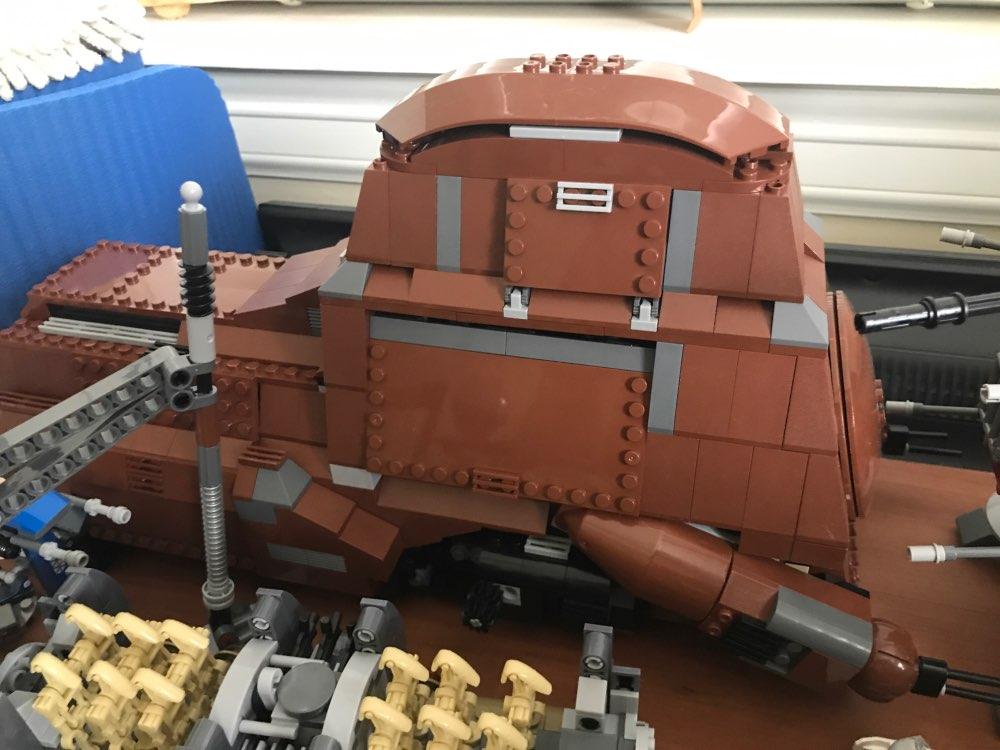 LEPIN 05069 Star Wars Federation Transportation Tank Block Set (1406Pcs) photo review