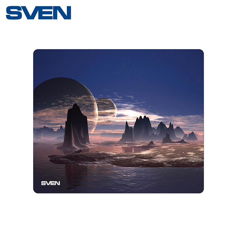 Gaming Mouse pad SVEN MP-GB1M e blue ems618 wired gaming mouse white