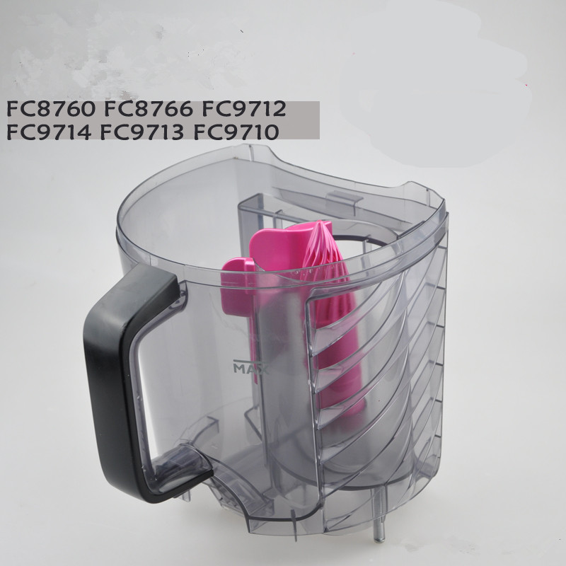 1pcs Vacuum cleaner dust cup filter drum Suitable for Philips FC8766 FC8760 FC9714 FC9712 philips fc 9712 01