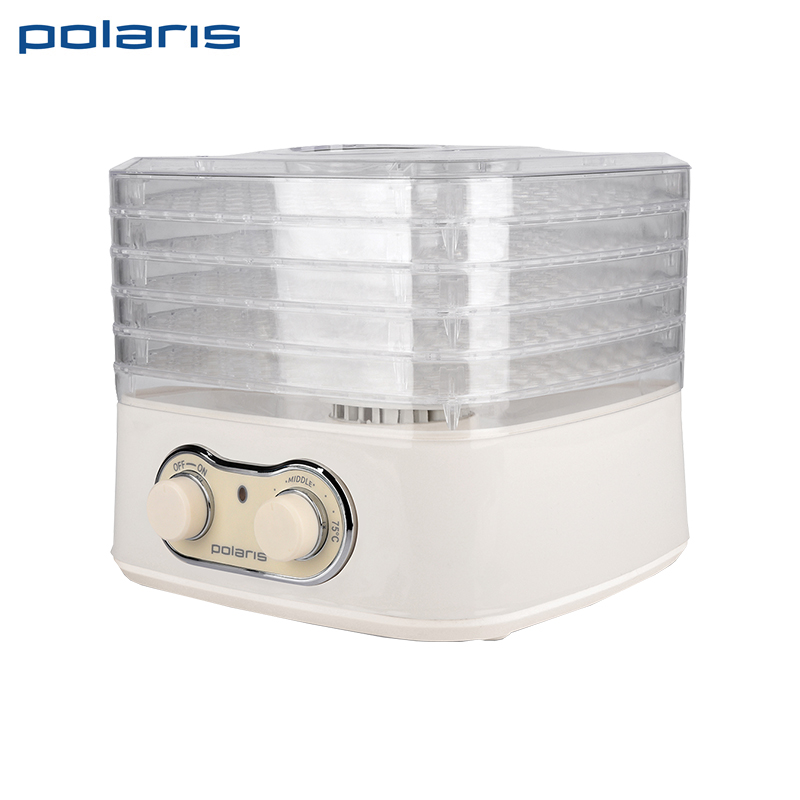 Dryer for fruits and vegetables Polaris PFD 1805 ce emc lvd fcc ozonizer for disinfecting vegetables