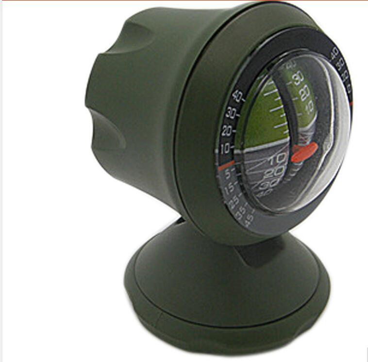 Multifunction Car Inclinometer Level Tilt Gauge Outdoor Measure Tool Slope Meter