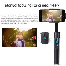FeiyuTech SPG C 3-Axis Stabilizer Handheld Gimbal for 50mm-80mm Width Smartphones for iPhone 7 7plus for galaxy s8