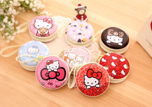 Hello Kitty Wedding Gift: Xingkings Hello Kitty Picture Earphone Holding Coin Bag