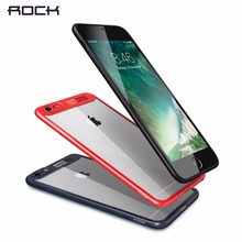 ROCK Slim Case for iPhone 8 7 6 6s plus Transparent PC TPU Silicone for iPhone