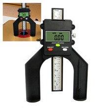 Digital Hand Router 80mm Self standing Depth Gauge with Magnetic Fastening Horizontal Vertical Measure LCD Magnetic Feet