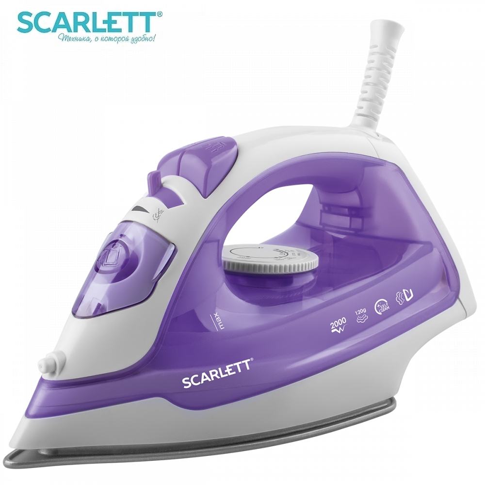 Iron Scarlett SC-SI30P10 Iron for ironing Mini iron steam iron Steam generator for clothing Irons Electric steamgenerator Small утюг scarlett sc si30p10 2000вт фиолетовый [sc si30p10]