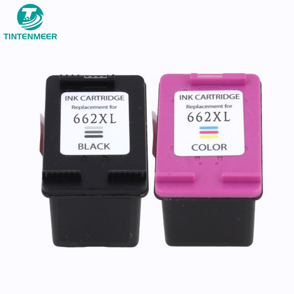 TINTENMEER premium quality ink cartridge 662 compatible for <font><b>hp</b></font> 1015 1515 2515 2545 2645 <font><b>3515</b></font> 4645 printer image