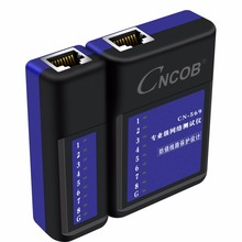 CNCOB professional multi-function network cable tester telephone line line meter network signal on-off detector tool