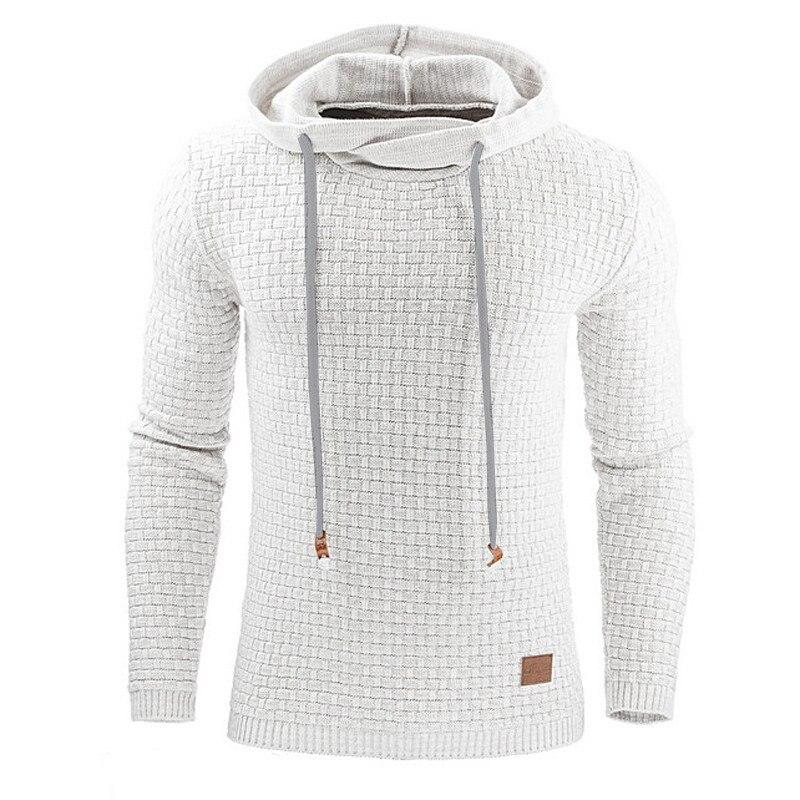 Hoodies Men 2018 Hoody Male Long Sleeve Solid Color Hooded Men s Sweatshirt Mens Hoodie Tracksuit