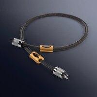 Бесплатная доставка 1.8 м/шт. Канас Подпись 6N чистое серебро США/EU аудио кабель питания с Furutech NCF fi 50m (r) разъем