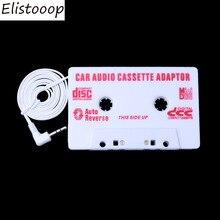 Elistooop Авто универсальный автомобильный Кассетный аудиоадаптер стерео конвертер для Iphone Ipod MP3 AUX CD 3,5 мм авто-Стайлинг