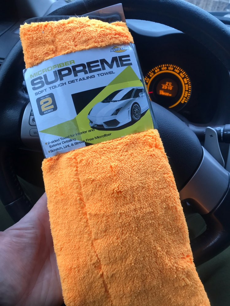 1pc 800gsm 45x38cm Microfiber Car Cleaning Cloth Super Thick Plush  Microfibre Detailing Wax Polishing Towel Car Care