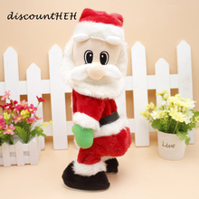 Lovely Christmas Electric Santa Claus Dance With Music  Christmas Ornament Decorations  For Kids