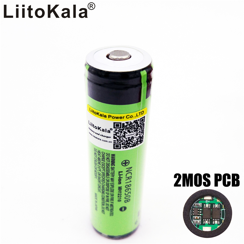 original liitokala 18650 3400mah battery 3 7 v li ion. Black Bedroom Furniture Sets. Home Design Ideas
