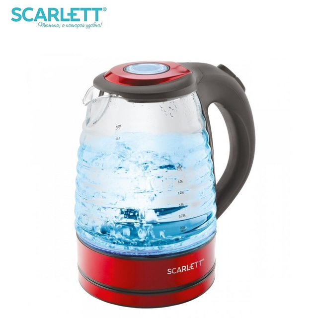 Чайник электрический Scarlett SC-EK27G62 1,7л