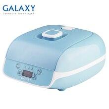 Йогуртница Galaxy GL 2693(Мощность 20 Вт, 9 емкостей с крышками общим объемом 0.9 л, LED-дисплей, таймер