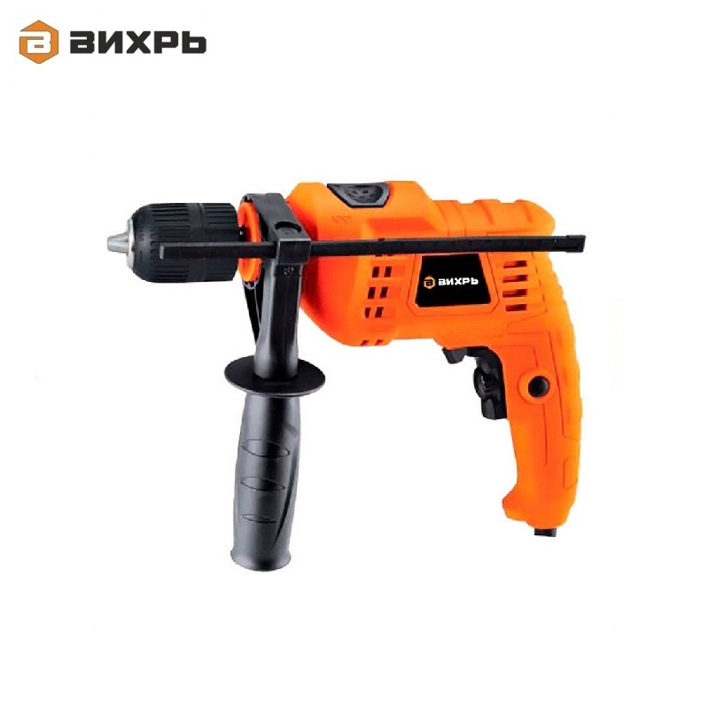Electric impact drill Vihr DU-550B Variable speed drill Hand brace High-speed drill Borer Corded drill impact drill vihr du 1100