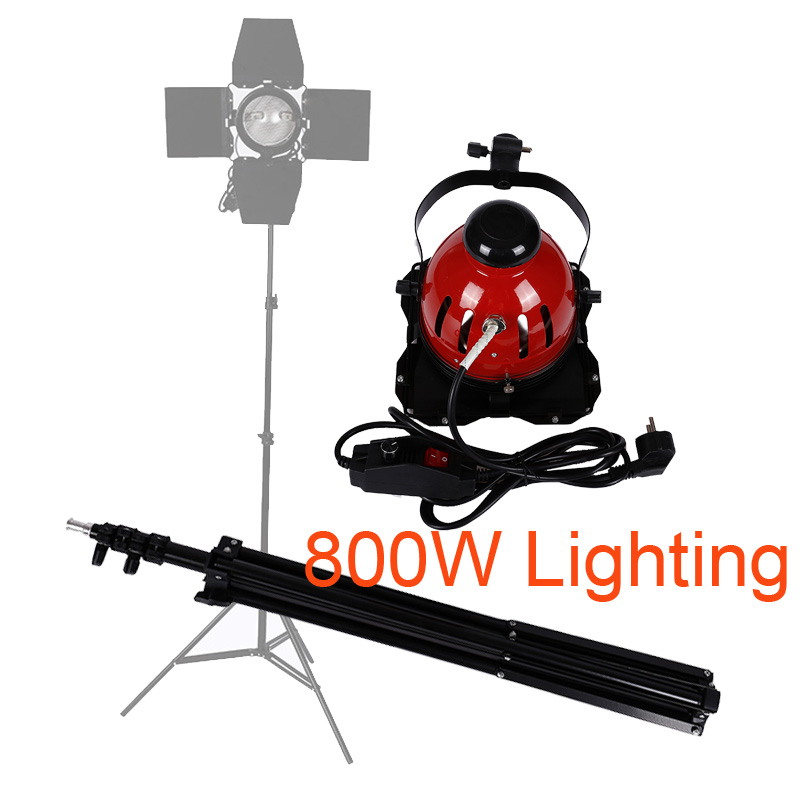 Photography 800W 3500K Yellow Continuous Lighting 2M Bold Light Stand for Photo