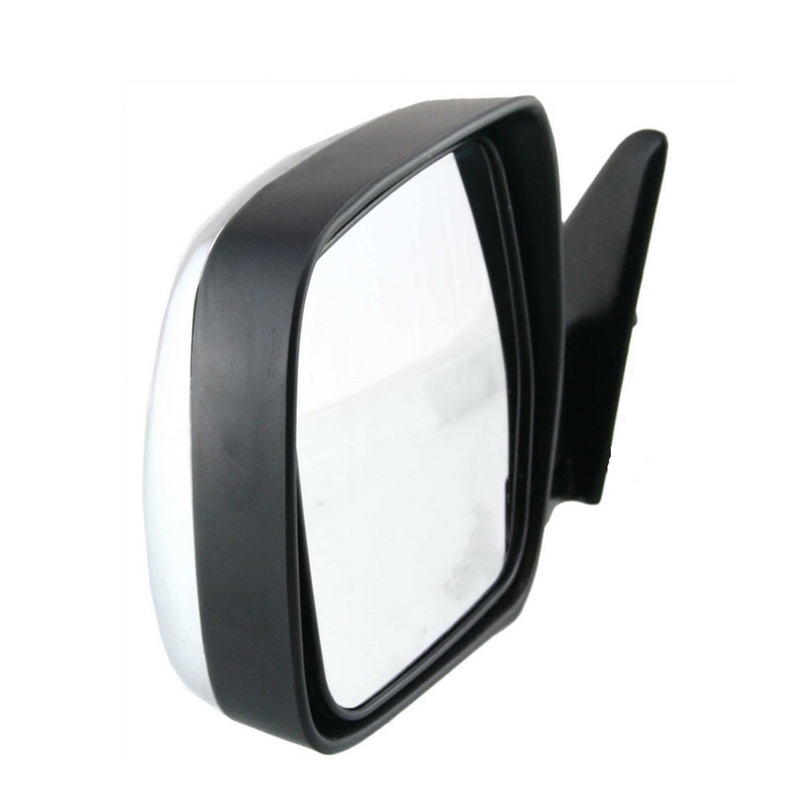 BLACK, MANUAL NEW MIRROR FOR TOYOTA LANDCRUISER 80 SERIES 1990-1998 RIGHT SIDE