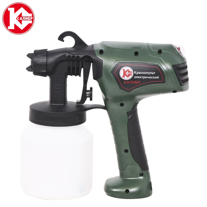 Kalibr EKRP-410/1.8 Electric Airless Spray Lacquer Gun Paint Spray Gun Paint Painting Tools High Atomization 1.8mm kalibr ekrp 350 2 6m electric spray gun latex paint airbrush paint spray gun