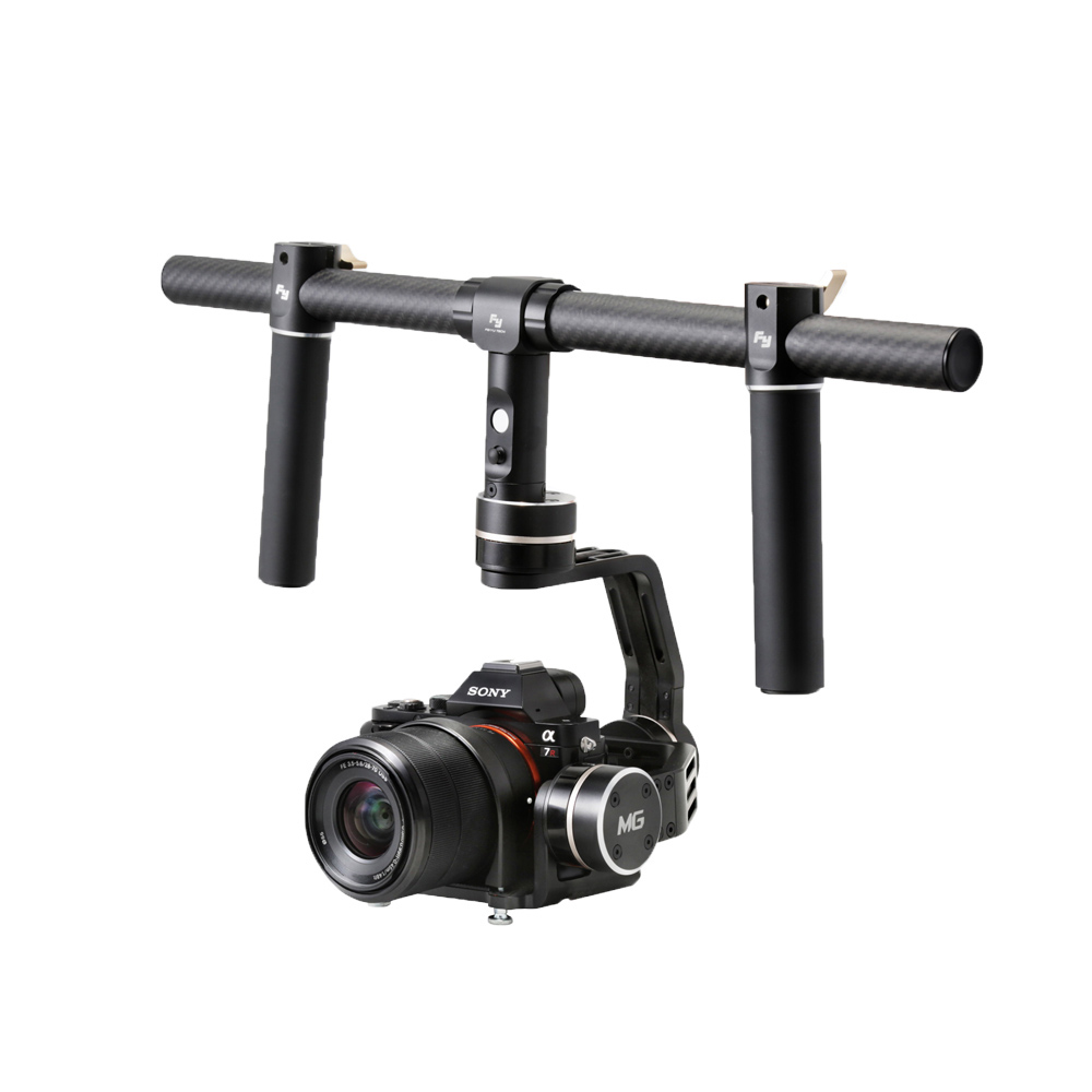 Feiyu FY-MG Brushless Handled Gimbal Stabilizer Tripods for DSR DSLR MINI Cameras Sony A7 A7R A7S II A7S II Panasonic GH4 GH3 bestablecam h4 rtf brushless handheld encoder mirrorless digital camera gimbal gyro stabilizer for gh3 gh4 a7s nex5 bmpcc