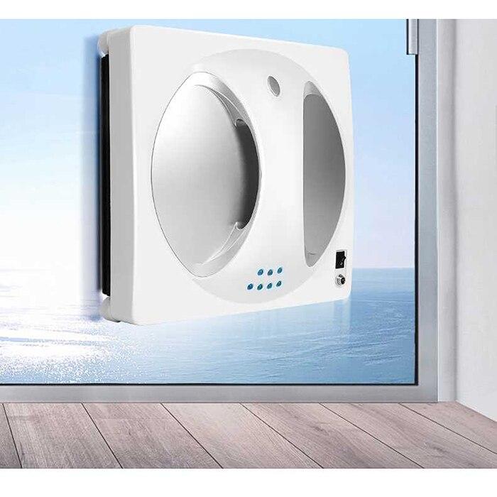Nouveau lave-verre automatique nettoyeur de verre Intelligent lingette Machine un bouton démarrage fenêtre nettoyage Robot aspirateur outil
