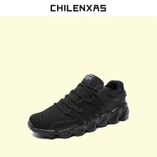 CHILENXAS 2017 Autumn Winter New Leather font b Shoes b font Large Size 39 46 Men