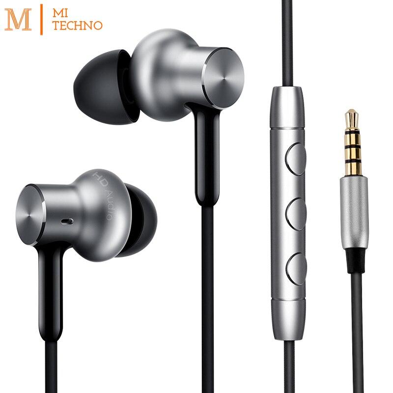 Original Xiaomi Mi In Ear Auriculares Pro HD Cancelacion de ruido Control por cable Tipo de
